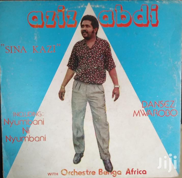 Vinyl Record Gramophone - Aziz Abdi - POLP 605 - Sina Kazi