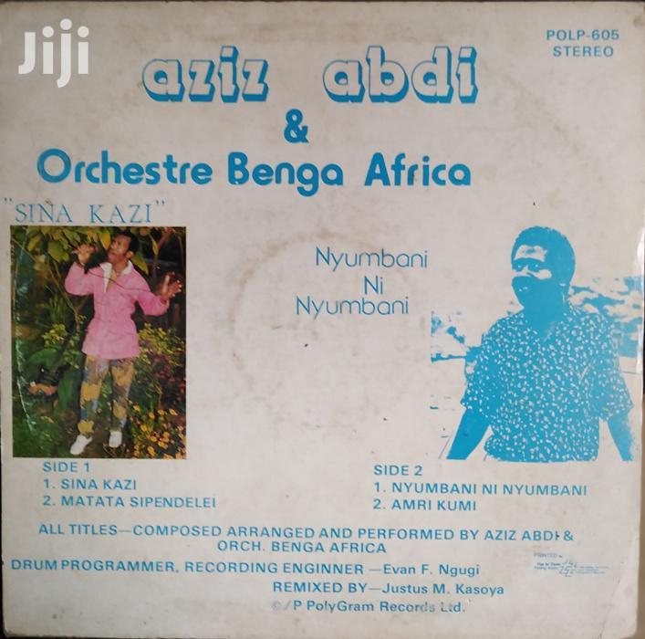 Vinyl Record Gramophone - Aziz Abdi - POLP 605 - Sina Kazi | CDs & DVDs for sale in Nairobi Central, Nairobi, Kenya