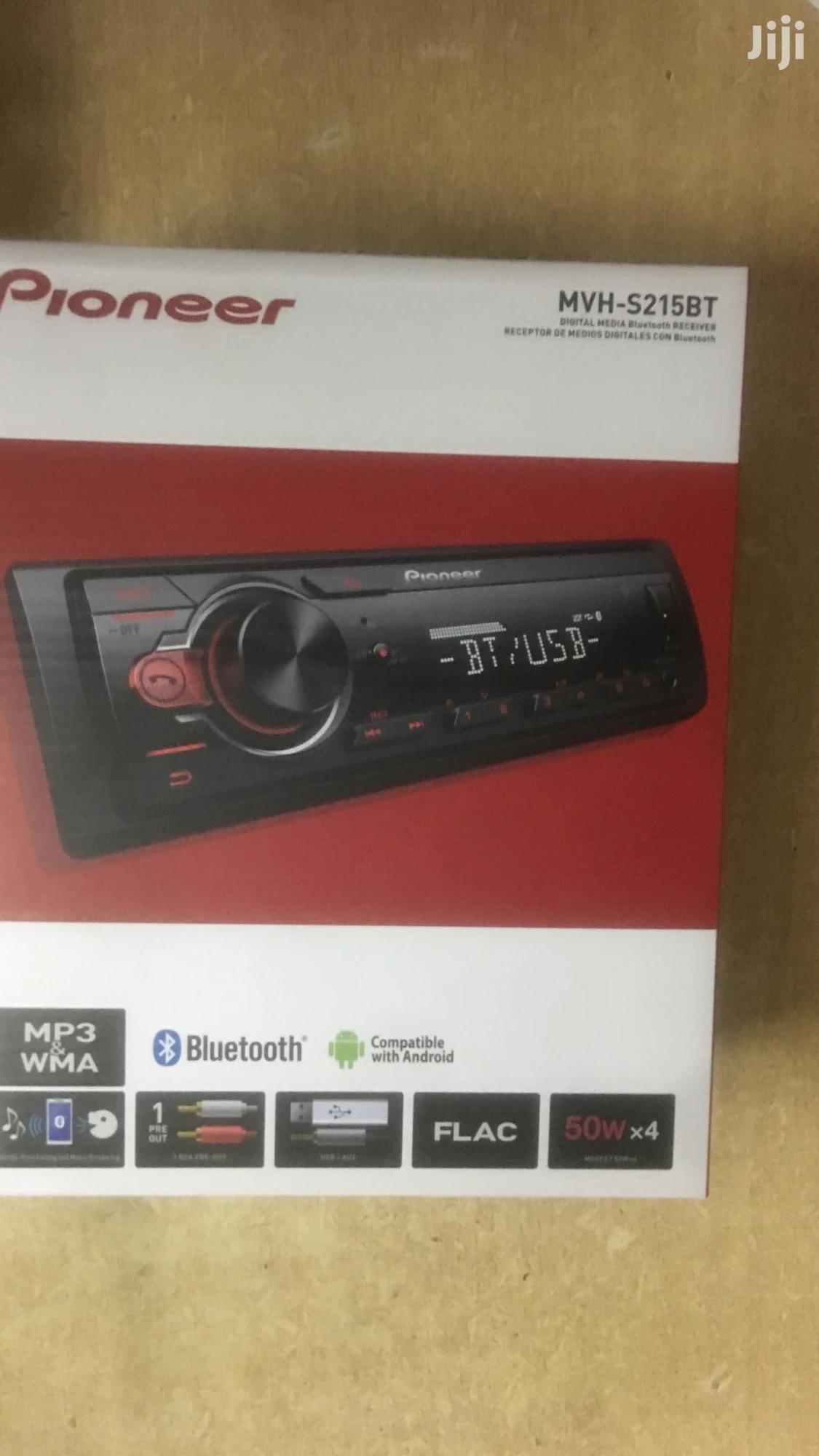 Pioneer Car Radio With Bluetooth, Fm, Usb