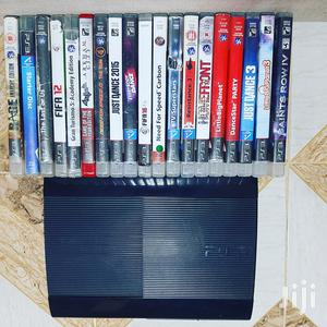 BLACK Superslim Playstation 3 With 13 Games   Video Game Consoles for sale in Nairobi, Nairobi Central