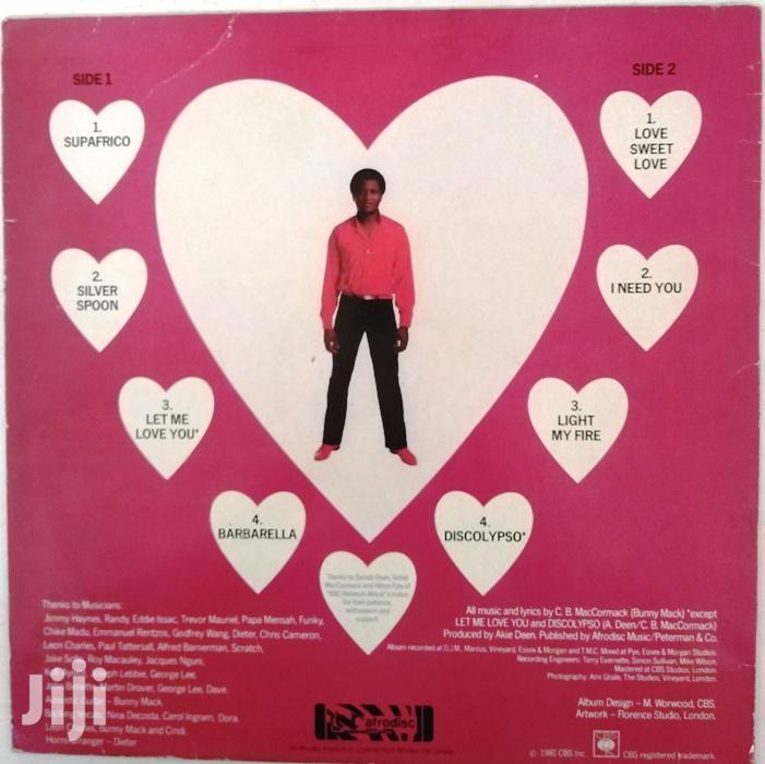 Vinyl Gramophone Record - Bunny Mack CBS 008 Let Me Love You   CDs & DVDs for sale in Nairobi Central, Nairobi, Kenya
