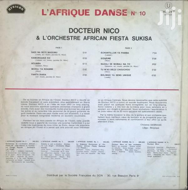 Vinyl Gramophone Record DOCTEUR NICO - 360.024 | CDs & DVDs for sale in Nairobi Central, Nairobi, Kenya