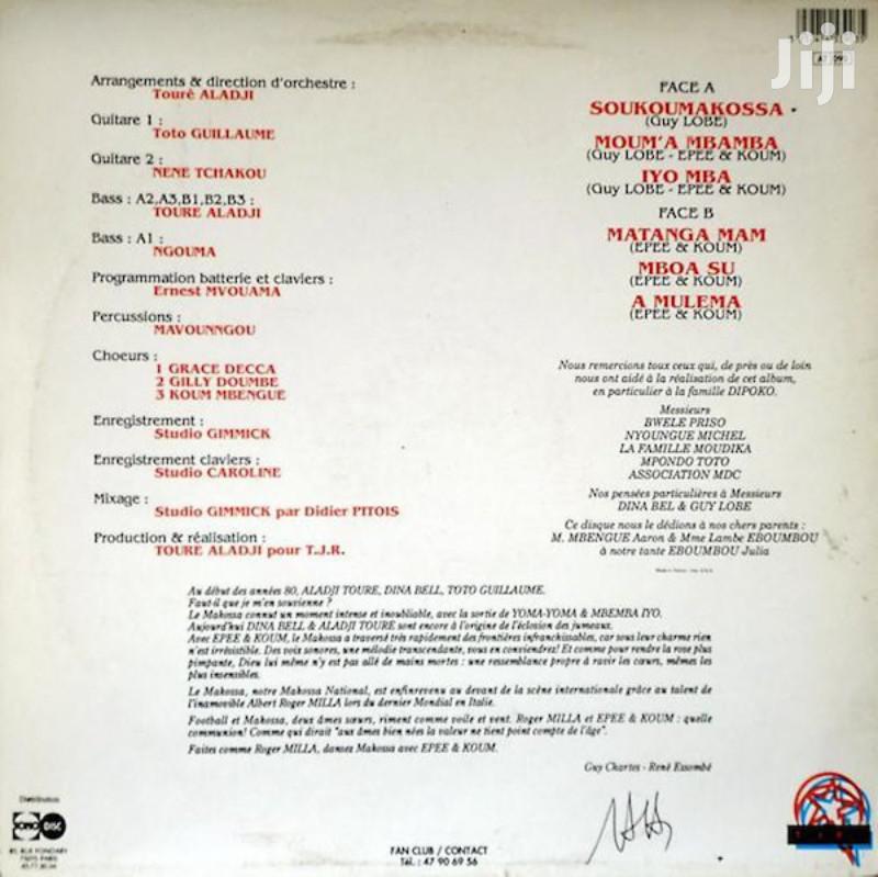 Vinyl Gramophone Record EPEE & KOUM - IVALP 123 SOUKOUS   CDs & DVDs for sale in Nairobi Central, Nairobi, Kenya