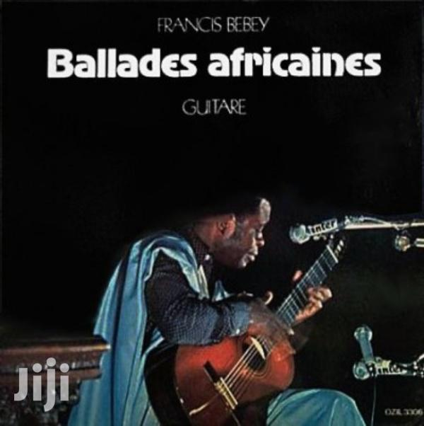 Archive: Vinyl Gramophone Record FRANCIS BEBEY - BALLADES AFRICAINE