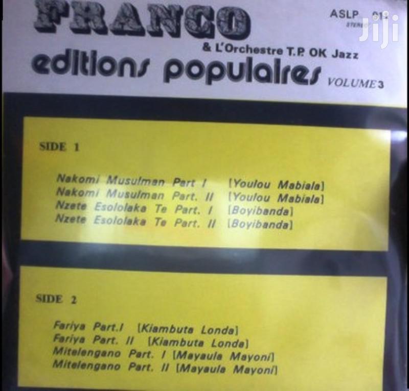 Vinyl Gramophone Record FRANCO - ASLP 911 | CDs & DVDs for sale in Nairobi Central, Nairobi, Kenya