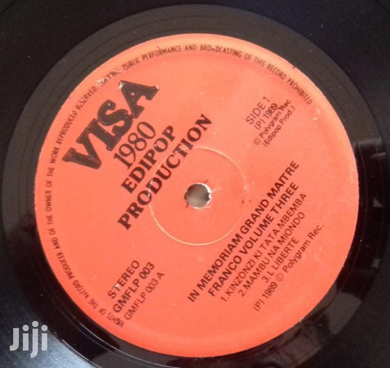 Archive: Vinyl Gramophone Record FRANCO AT T.P.OK JAZZ - GMFLP 003