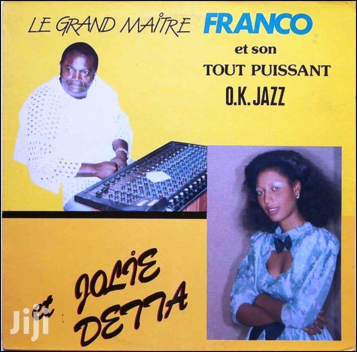 Archive: Vinyl Gramophone Record FRANCO ET JOLIE DETTA - POP 031