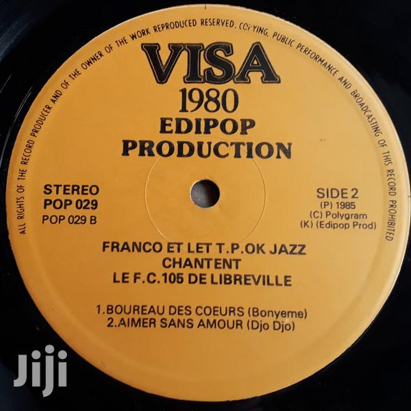 Vinyl Gramophone Record FRANCO T.P.O.JAZZ FC 105 POP 029 | CDs & DVDs for sale in Nairobi Central, Nairobi, Kenya