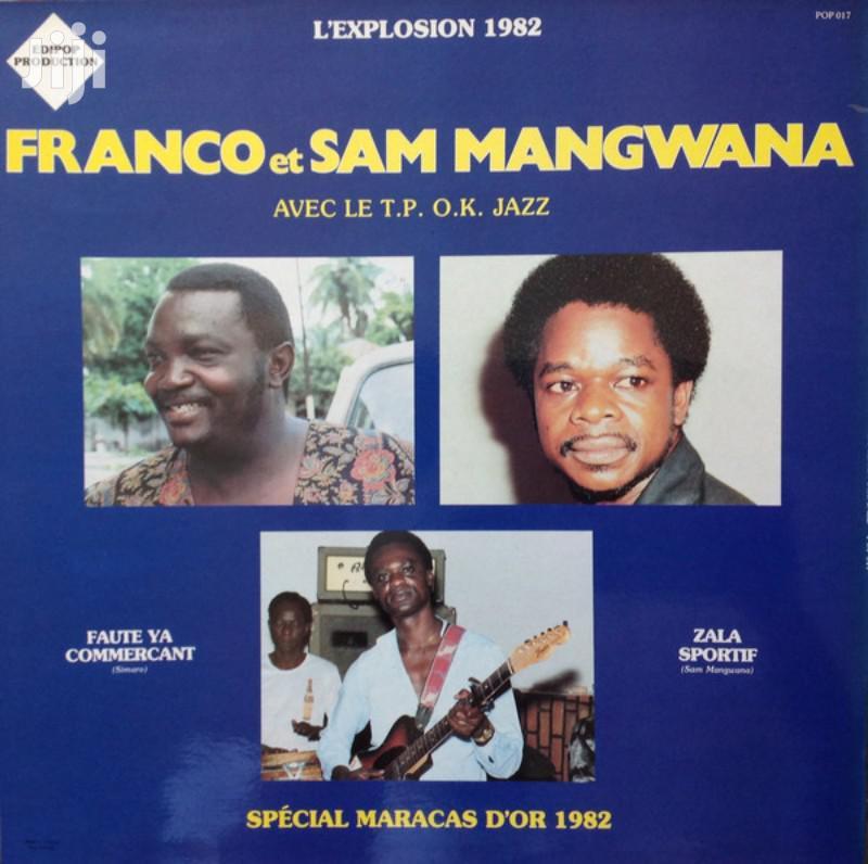 Vinyl Gramophone Record FRANCO MANGUANA - ODONGO - POP 03 | CDs & DVDs for sale in Nairobi Central, Nairobi, Kenya