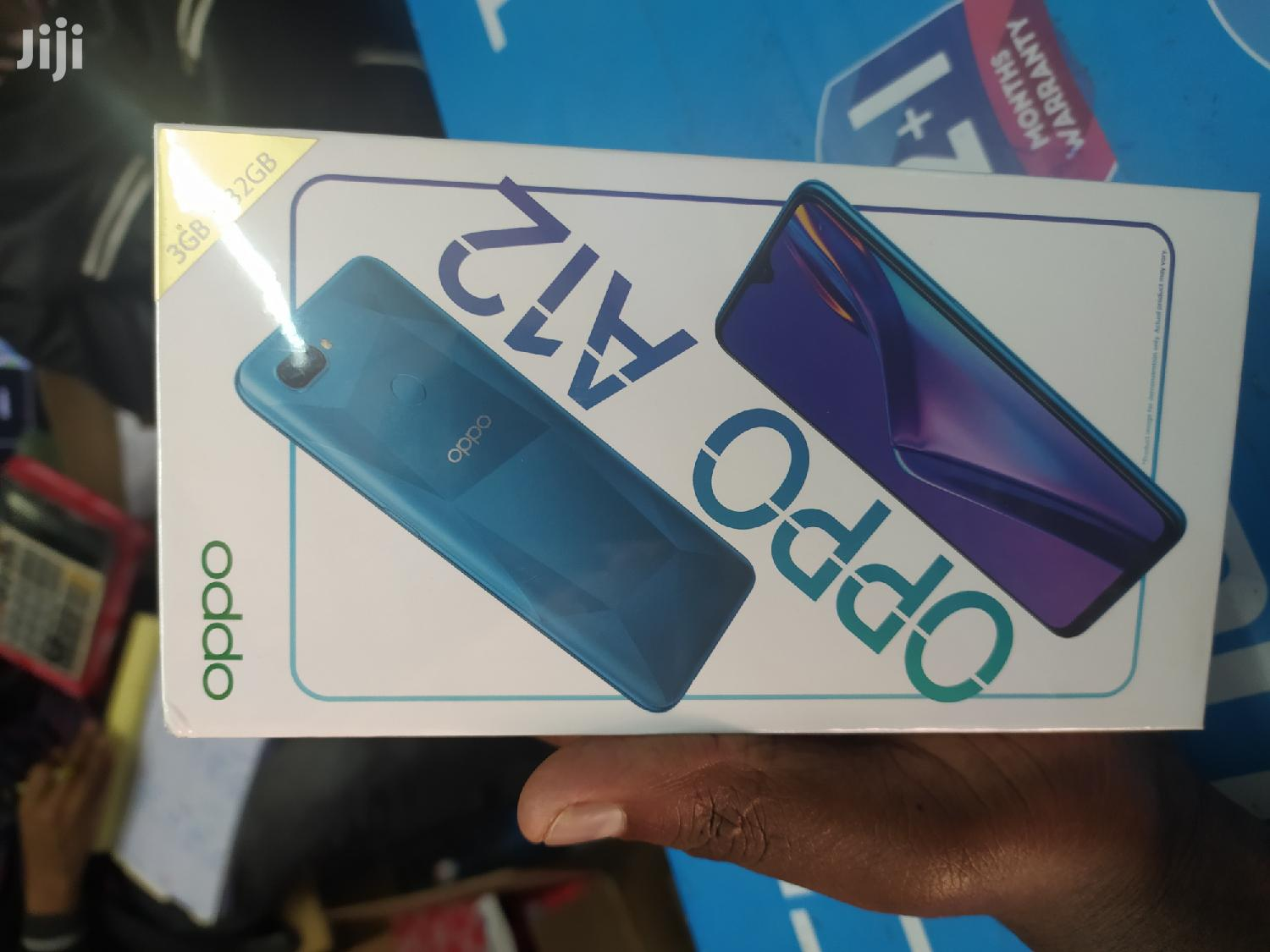 New Oppo A12 32 GB Gold