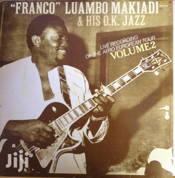 Vinyl Gramophone Record FRANCO LIVE RECORDING - 360.101