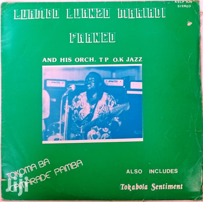 Vinyl Gramophone Record FRANCO T.P.OK. JAZZ- ASLP 926