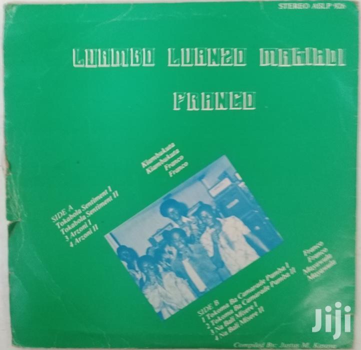 Vinyl Gramophone Record FRANCO T.P.OK. JAZZ- ASLP 926 | CDs & DVDs for sale in Nairobi Central, Nairobi, Kenya