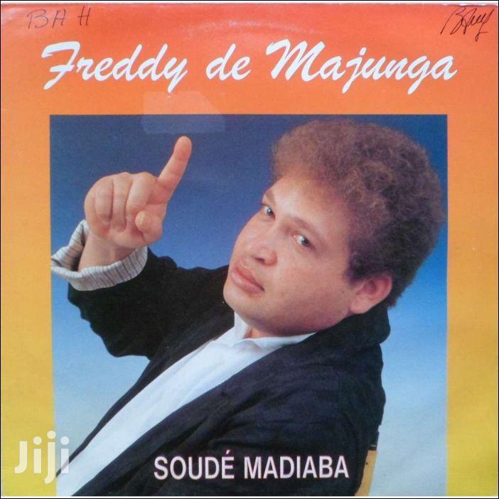Archive: Vinyl Gramophone Record FREDDY MAJUNGA - SOUDE MADIABA