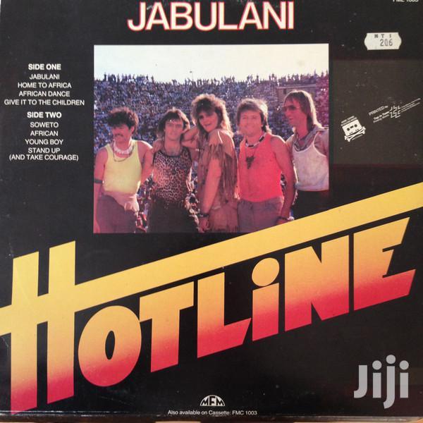 Vinyl Gramophone Record HOTLINE - FML 1003 JABULANI | CDs & DVDs for sale in Nairobi Central, Nairobi, Kenya