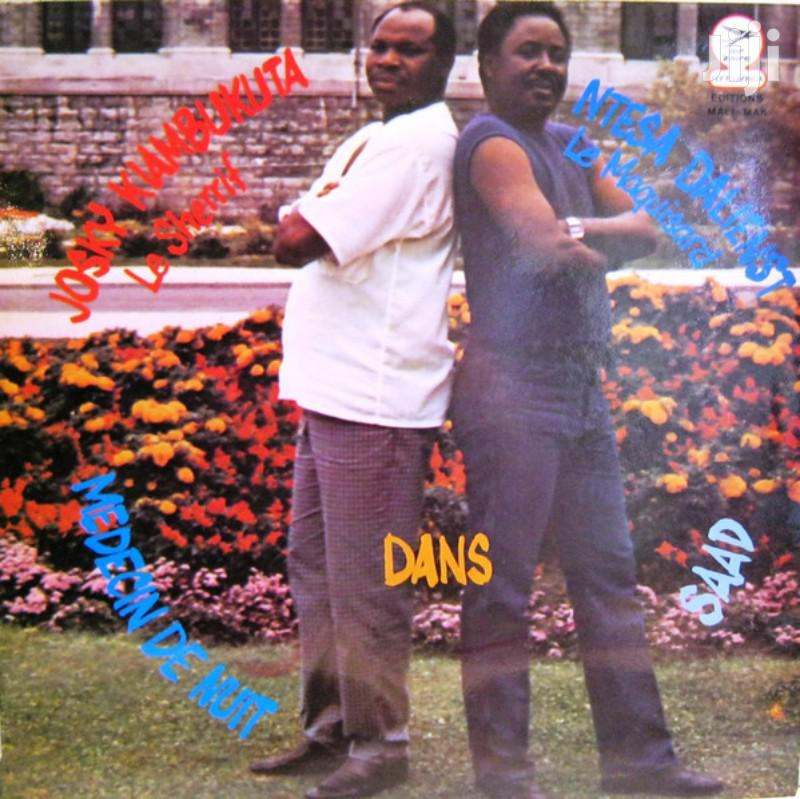 Vinyl Gramophone Record JOSKY KIAMBUKUTA & NTESA DALIENST