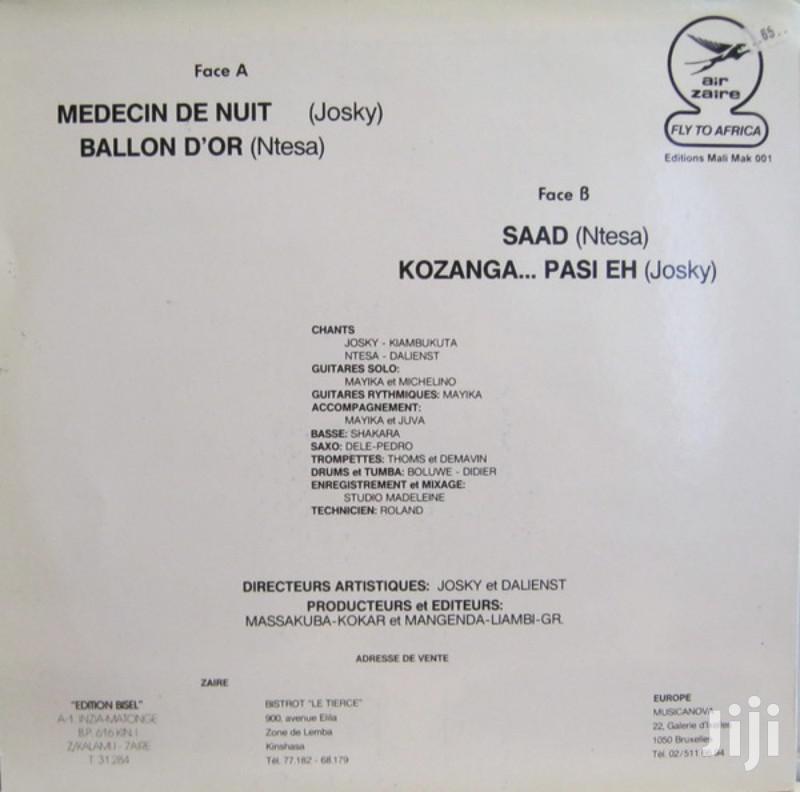 Vinyl Gramophone Record JOSKY KIAMBUKUTA & NTESA DALIENST | CDs & DVDs for sale in Nairobi Central, Nairobi, Kenya