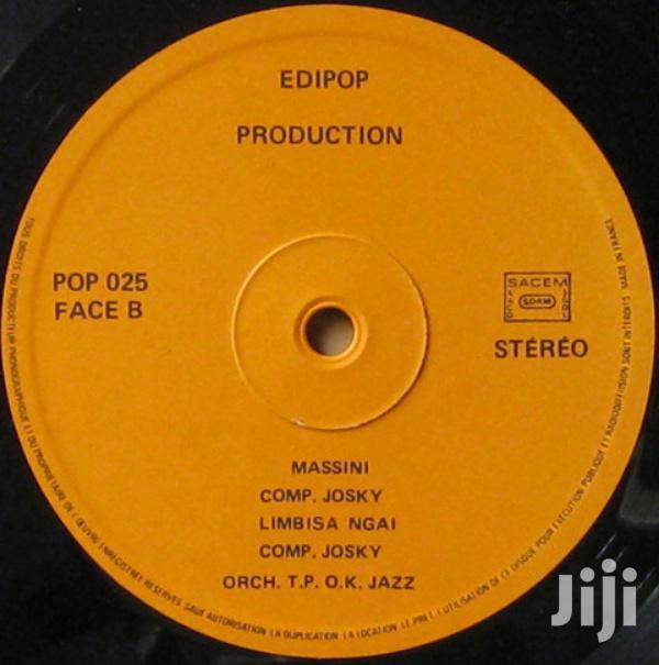 Archive: Vinyl Gramophone Record Josky-kiambukuta Du T.P.O.K Mehida