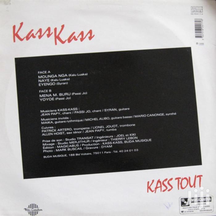 Vinyl Gramophone Record KASS KASS - KASS TOUT - CONGO | CDs & DVDs for sale in Nairobi Central, Nairobi, Kenya