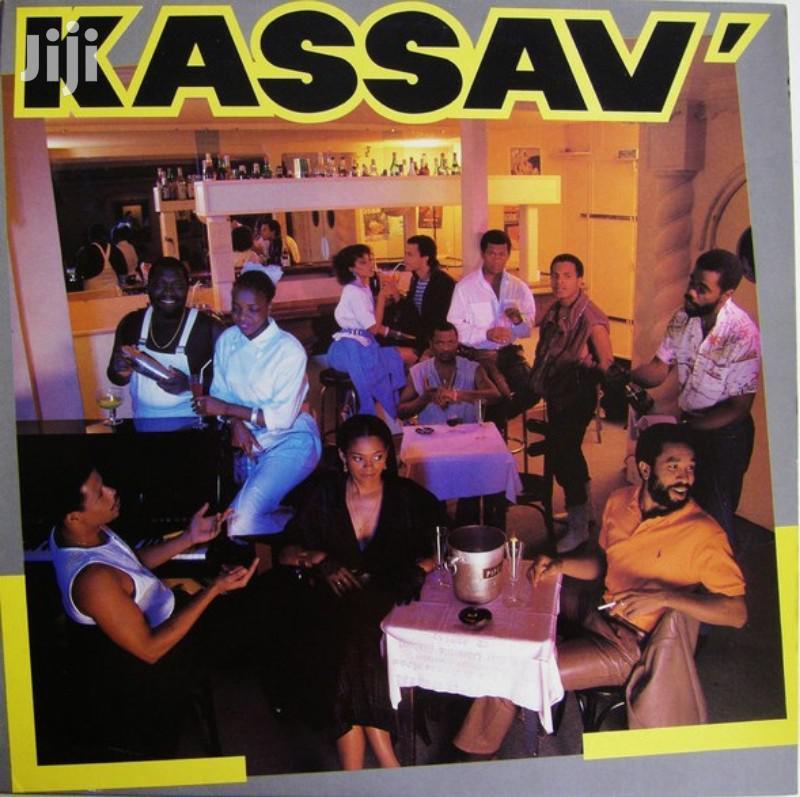 Vinyl Gramophone Record KASSAV - GD 27 MOVE-JOU