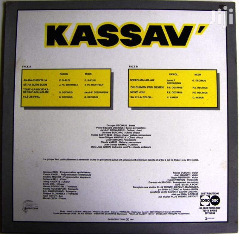 Vinyl Gramophone Record KASSAV - GD 27 MOVE-JOU   CDs & DVDs for sale in Nairobi Central, Nairobi, Kenya