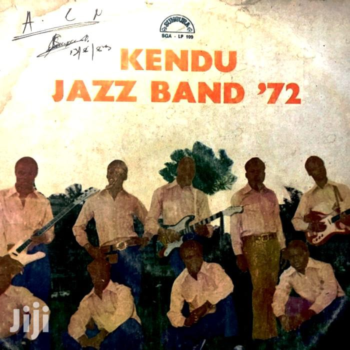 Vinyl Gramophone Record KENDU JAZZ BAND - SGA LP 1