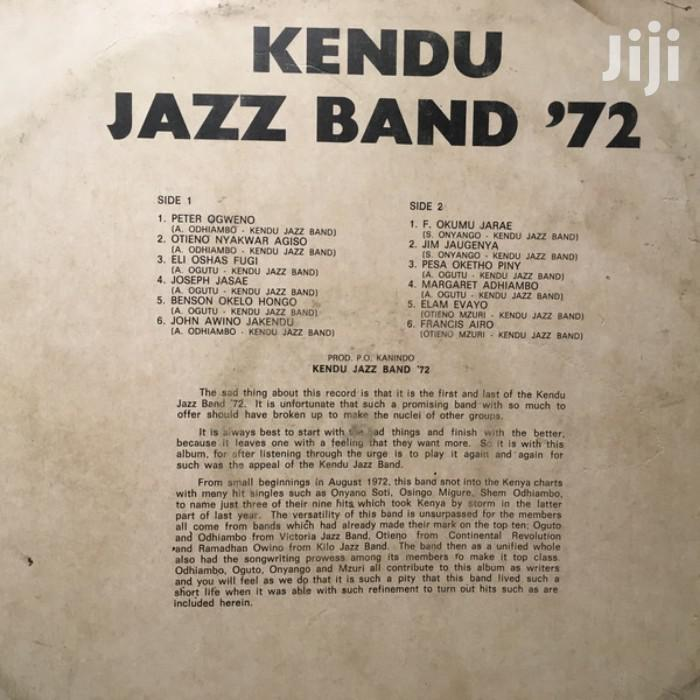 Vinyl Gramophone Record KENDU JAZZ BAND - SGA LP 1 | CDs & DVDs for sale in Nairobi Central, Nairobi, Kenya