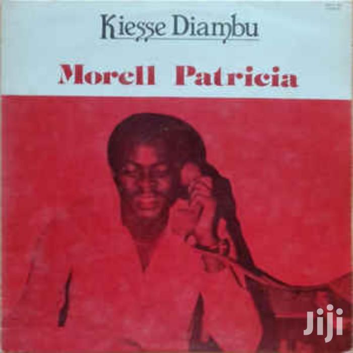 Archive: Vinyl Gramophone Record KIESSE DIAMBU - MORELL PATRICIA