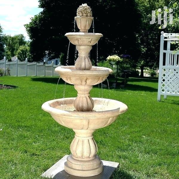 2m 3 Teir Water Fountain