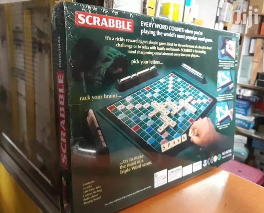 Big Scrabble With 4 Maximum Player Crossword Game