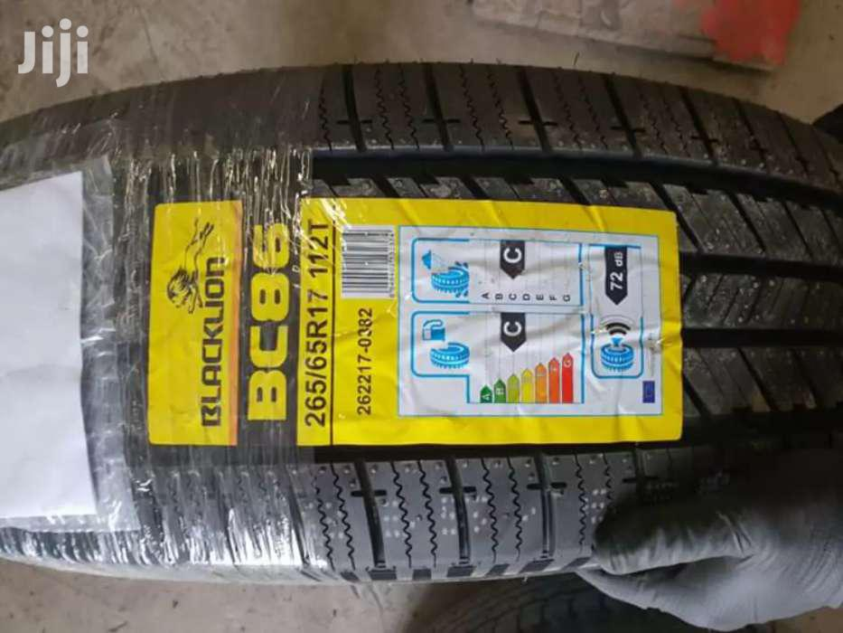 265/65/17 Blacklion Tyres Is Made In China