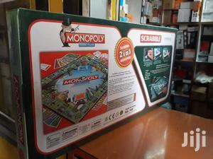 Scrabble + Monopoly 2 in 1 Family Party Board | Books & Games for sale in Nairobi, Nairobi Central