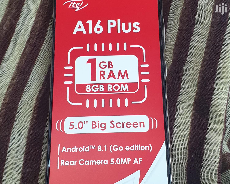 New Itel A16 Plus 8 GB Black | Mobile Phones for sale in Nairobi Central, Nairobi, Kenya