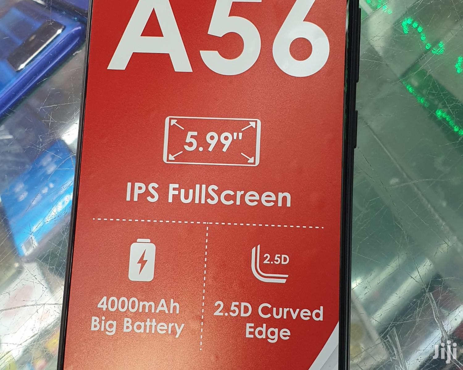 New Itel A56 16 GB Black