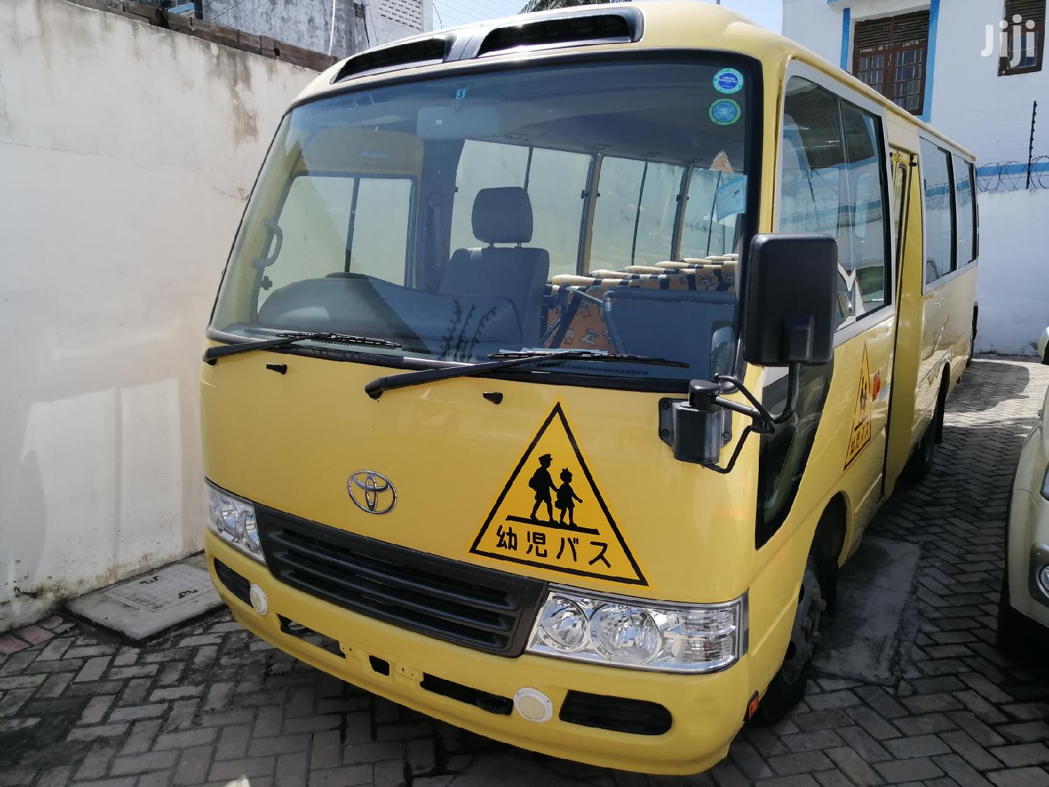 Toyota Coaster Bus 2014 Yellow For Sale