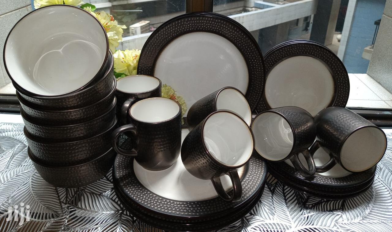 24pc Ceramic Dinner Plates/Dinner Set/Unique Dinner Set | Kitchen & Dining for sale in Nairobi Central, Nairobi, Kenya