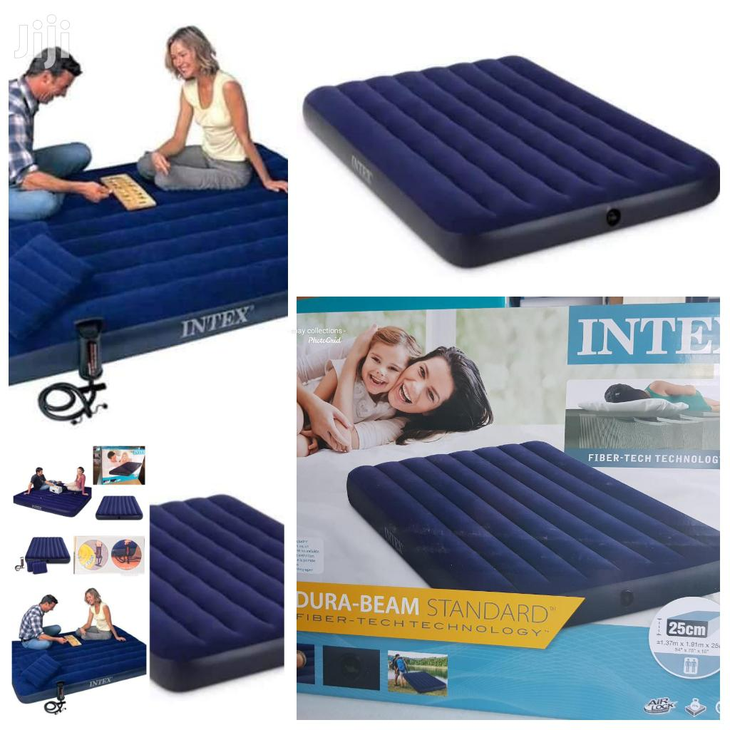 6*6 Inflatable Mattress With Pump