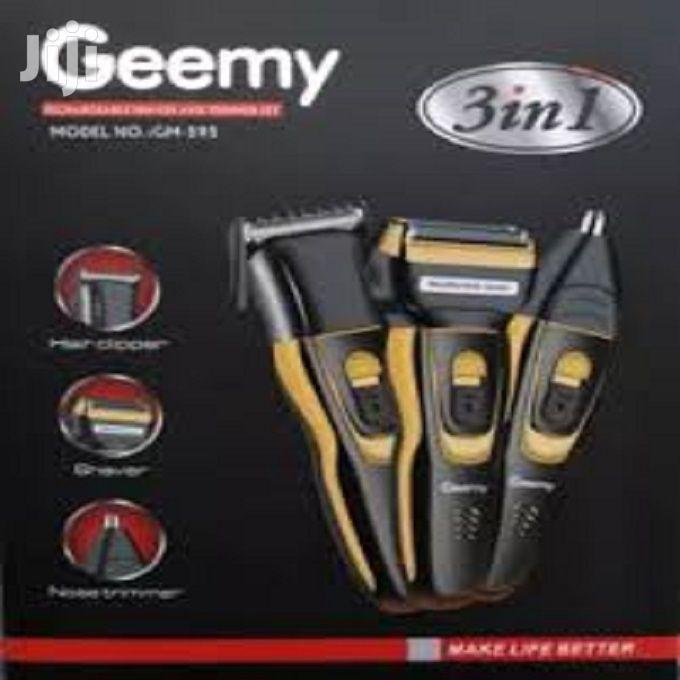 Geemy 3in1 Rechargeable Shaver
