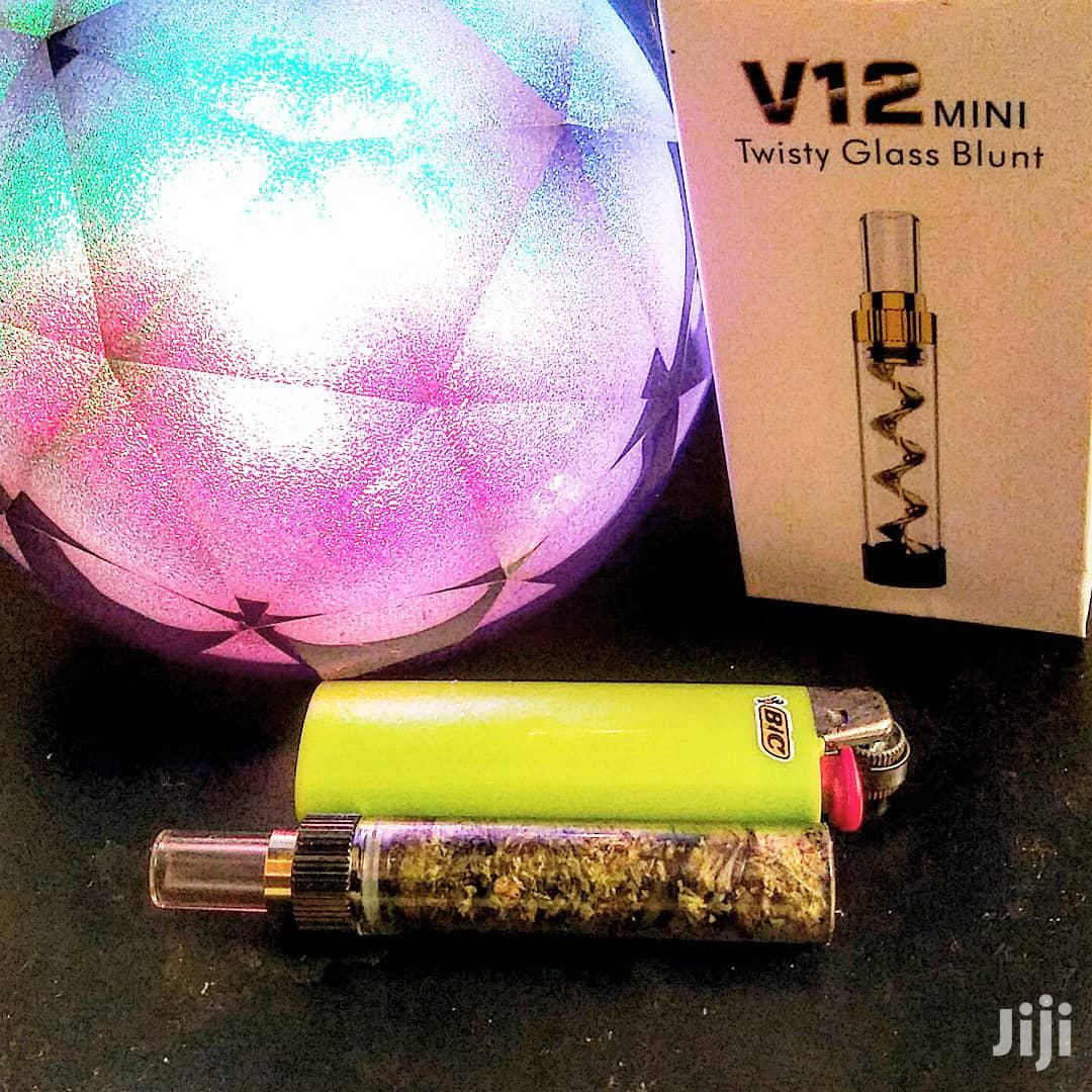 V12 Mini Twisty Glass Blunt Vape   Tobacco Accessories for sale in Nairobi Central, Nairobi, Kenya
