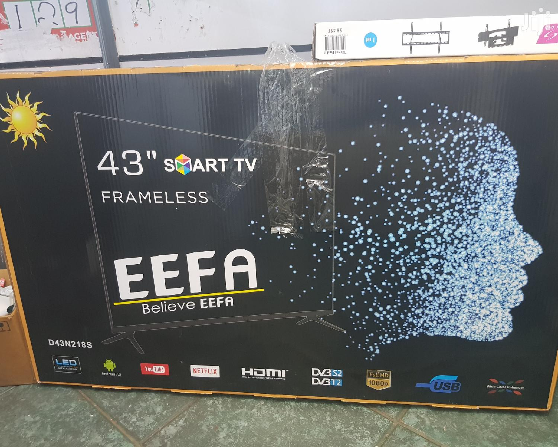 """EEFA Tv Smart 43"""" Frameless"""
