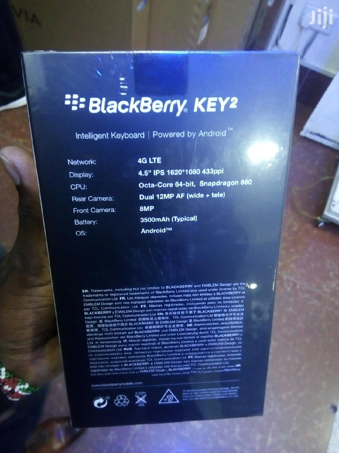 Archive: New BlackBerry KEY2 64 GB Black