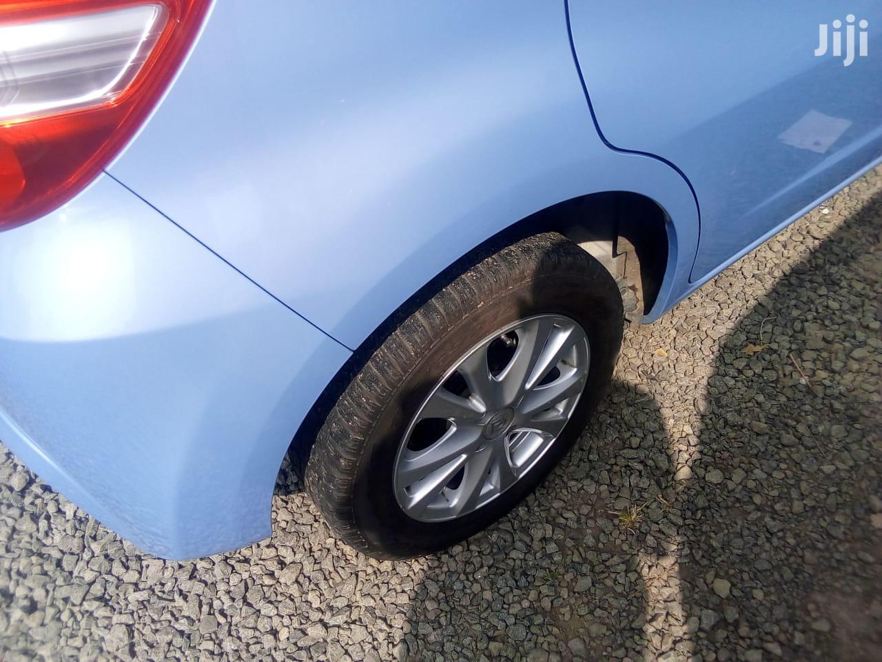 Archive: Honda Fit 2013 Blue