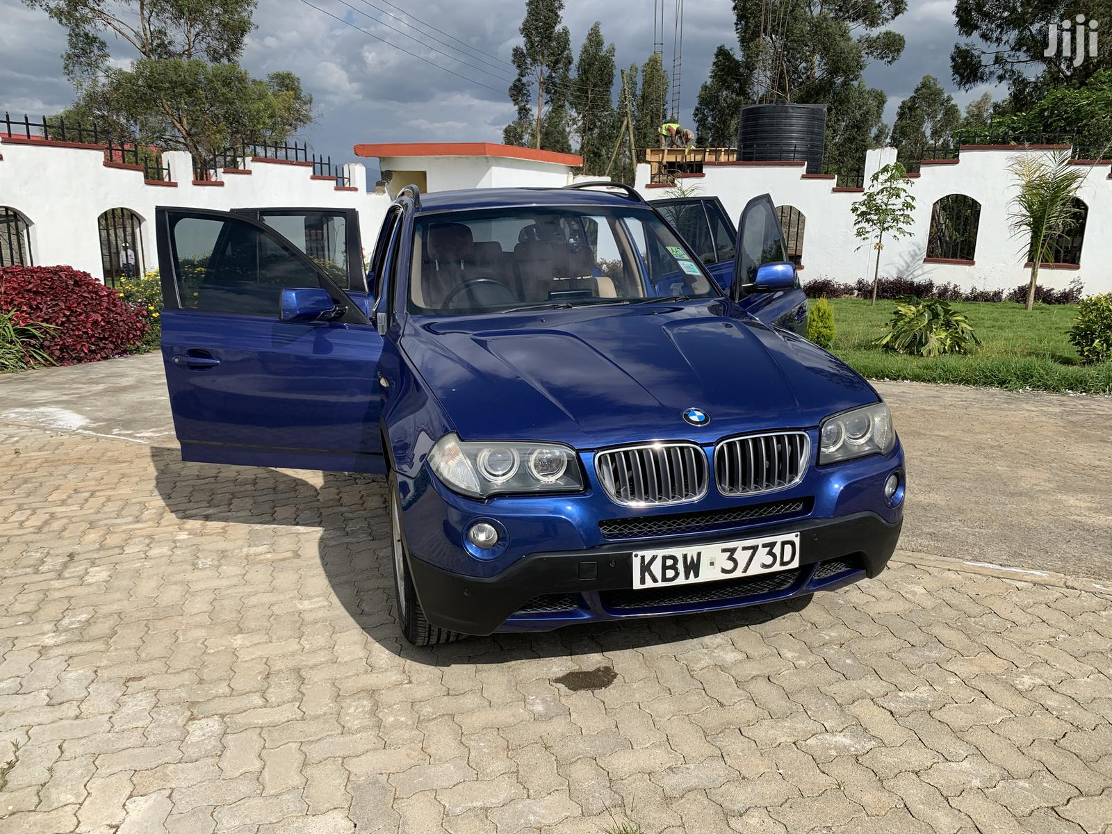 Archive: BMW X3 2.5si Exclusive 2007 Blue