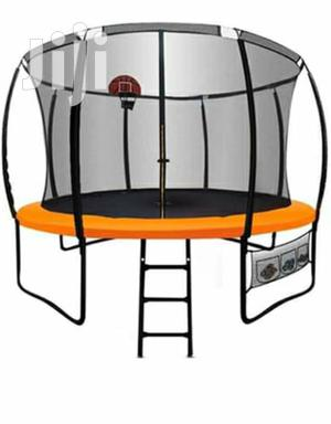 10 Ft Trampoline With Basketball Hoop | Sports Equipment for sale in Nairobi, Nairobi Central
