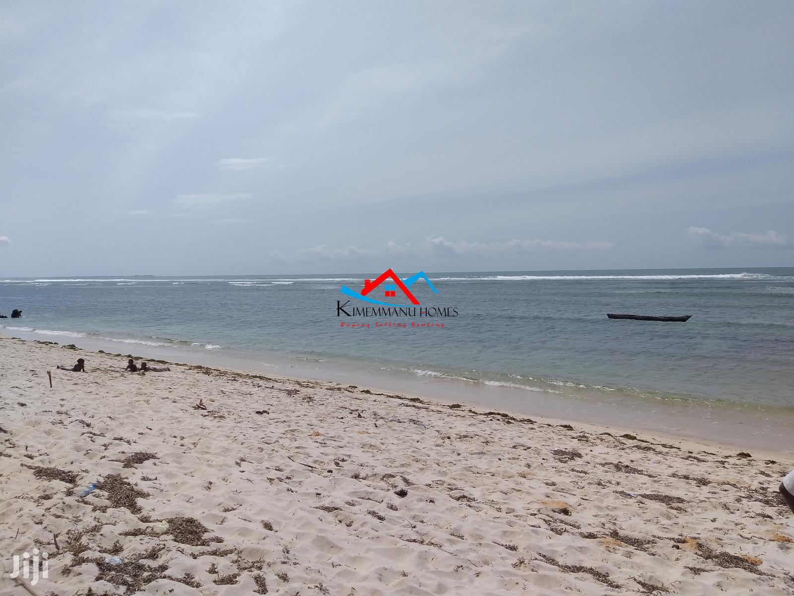 White Sandy Beach Plot for Sale