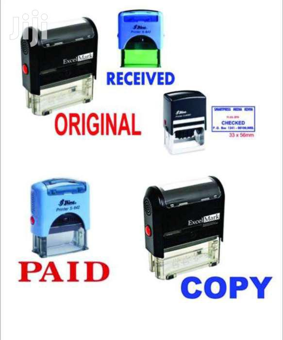Rubber Stamps Company Seals And General Branding | Stationery for sale in Nairobi Central, Nairobi, Kenya