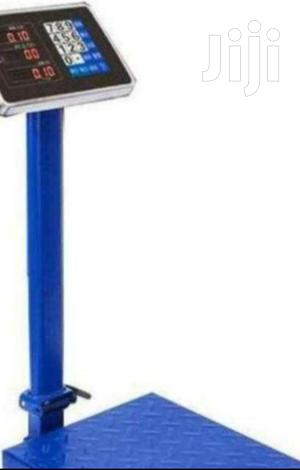 Blue Color 300kg Digital Platform Weighing Scale | Store Equipment for sale in Nairobi, Nairobi Central