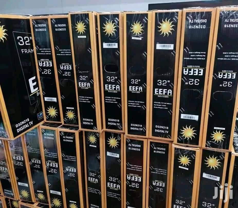 "TV New EEFA Frameless Digital TV With 2 32"" Inch"