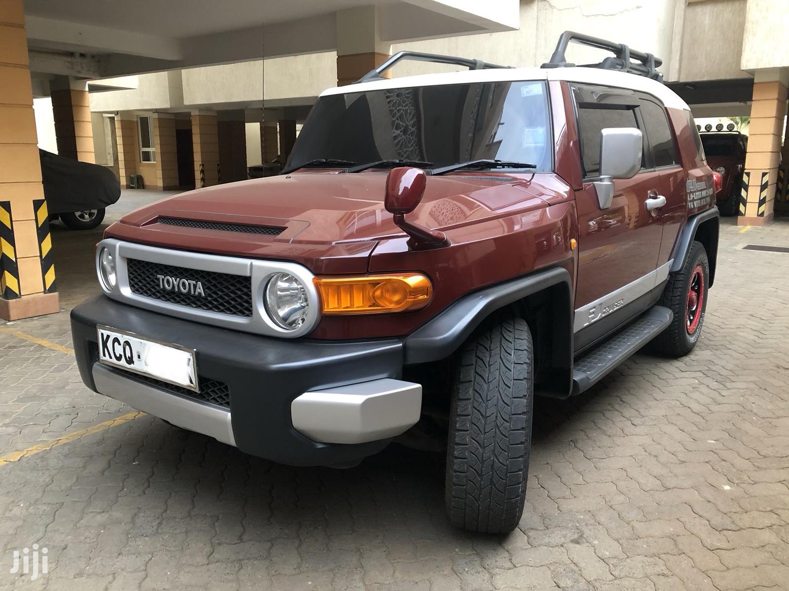 Toyota FJ Cruiser 2013 4X4 AT Red | Cars for sale in Kilimani, Nairobi, Kenya