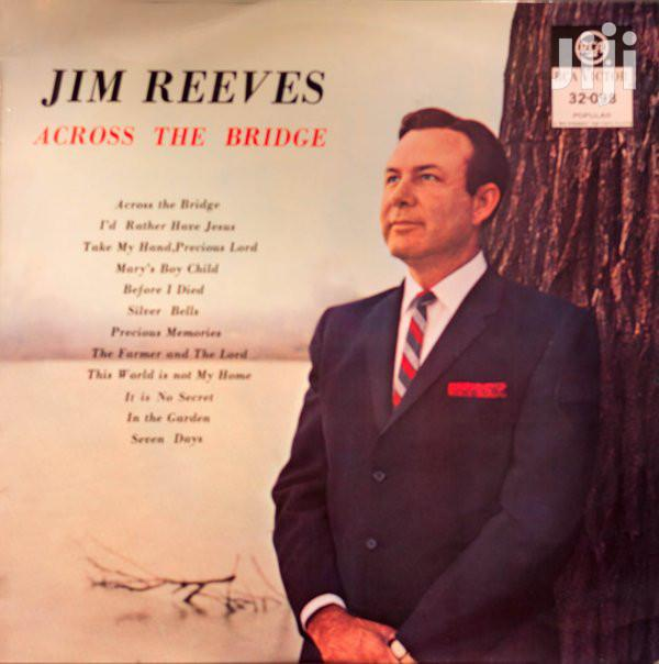 Vinyl Gramophone Record Jim Reeves - Across The Bridge